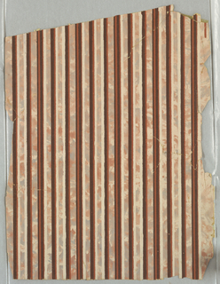 Marbleized stripes in various colors.