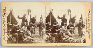 Stersoscope Slides, Scenes during the Spanish American War