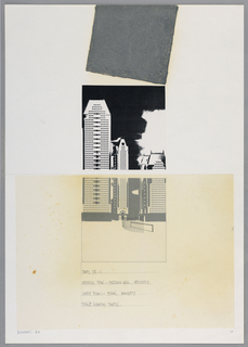 Drawing, Times Square I: Vertical, 1984
