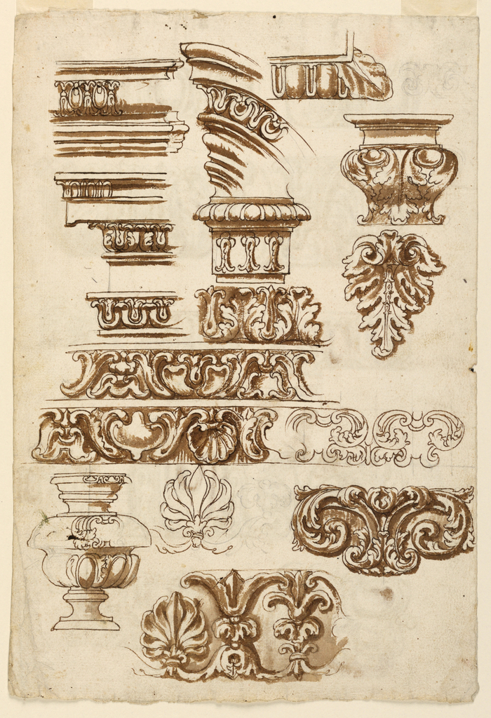 Drawing, Molding and Ornamentation, 1625–50
