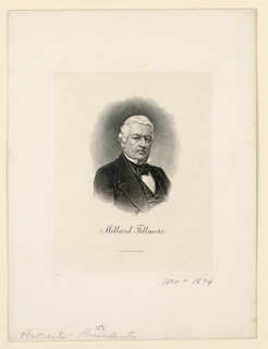 Bank Note, Portrait of Millard Fillmore, ca. 1890