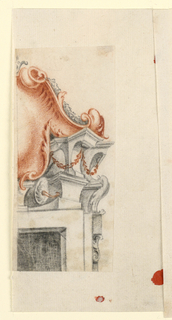 Drawing, Overdoor, 1730–60