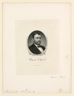 Bank Note, Portrait of Ulysses S. Grant, ca. 1890