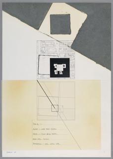 Drawing, Times Square I: Square 1., 1984