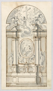 Drawing, Project for an altar, n.d.
