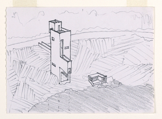 Drawing, The Vertical House