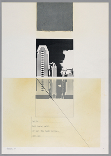 Drawing, Times Square I: Philip Jo, 1984