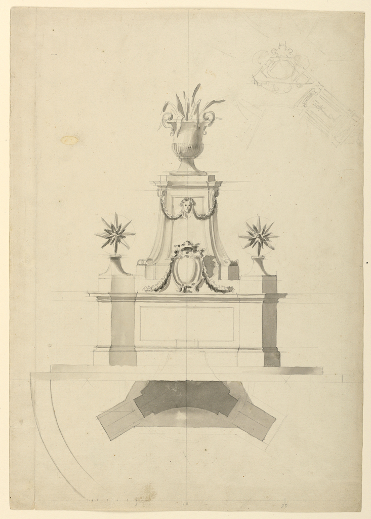 Drawing, Ornament for the Intersec, 1775