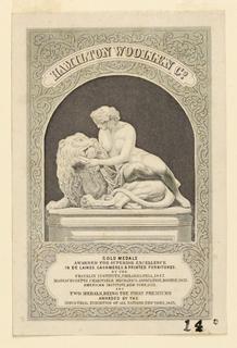 Print, Hamilton Woollen Co., ca. 1853