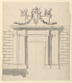 Drawing, City Gate