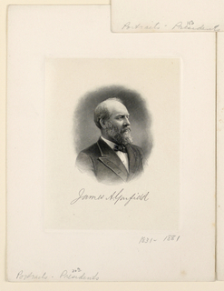 Bank Note, Portrait of James A. Garfield, ca. 1890