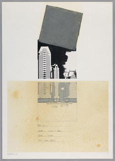 Drawing, Times Square I: Square 1, 1984