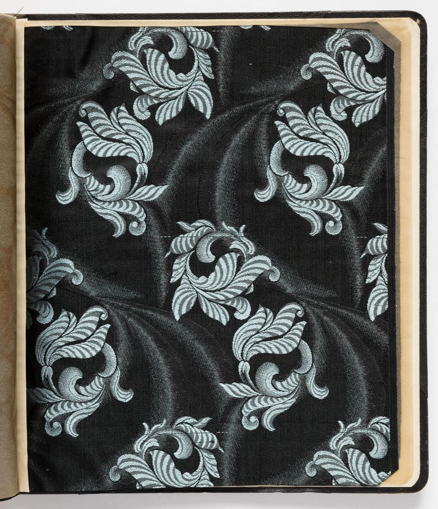 Sample Book, Fabbriche Italiane di Seterie, Como, Serie D Vol. III DAL 1854 AL  2 Lats Noir, 1870–79