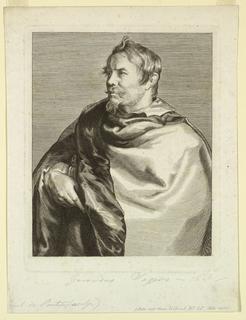 Print, Portrait of Gerard Seghers, 1630