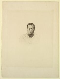 Print, Portrait of an Unknown Man