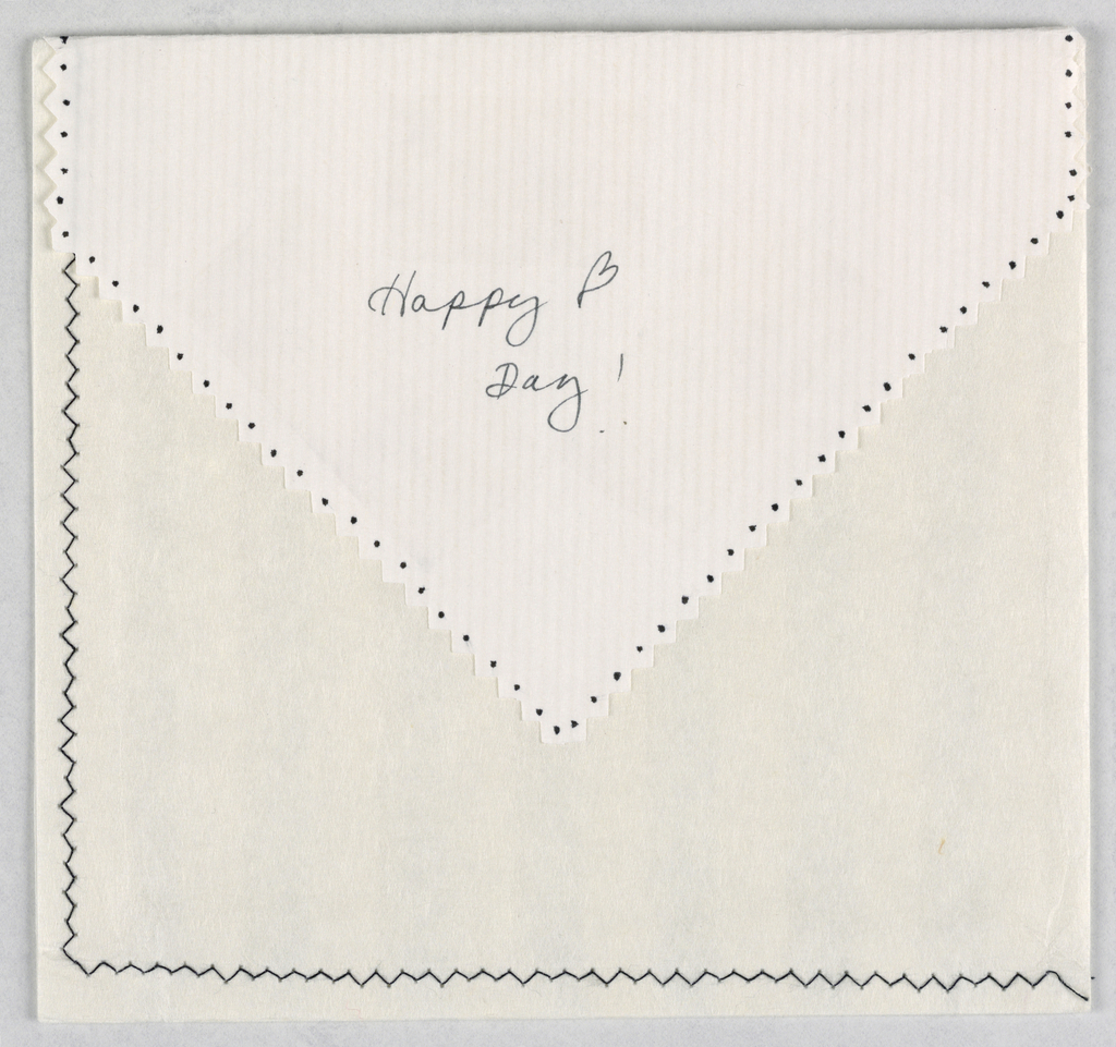Holiday Card Envelope, Valentine's Day