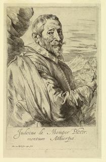 Print, Portrait of Josse de Momper