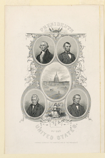 Print, Portraits of United State, ca. 1888