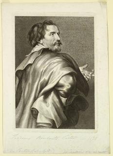 Print, Portrait of Theodoor Rombouts, 1630