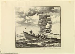 Print, The Whale Hunt