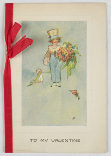 Greeting Card, Greeting Card: To My Valentine, ca. 1916-17
