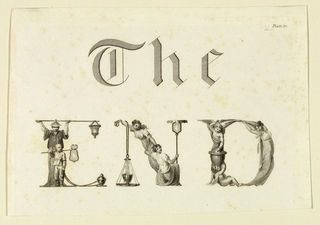 Print, The End, plate 20, from an unknown publication, 18th century