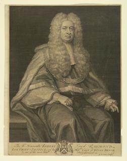 Print, Robert, Lord Raymond, ca. 1740