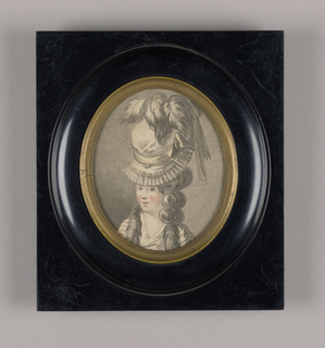 Print, Head and shoulders of a w, ca. 1775