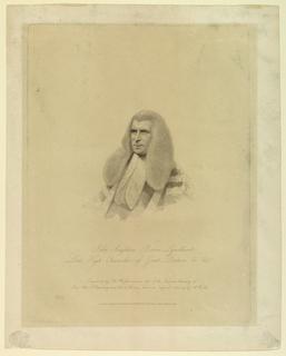 Print, John Singleton Copley, Lord Lyndhurst, 1828