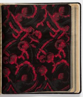 Sample Book, Fabbriche Italiane di Seterie, Como, Serie D Vol. III DAL 1854 AL  2 Lats Noir