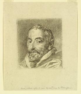 Print, Portrait of Antonius Triest, Bishop of Ghent