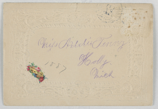 with envelope