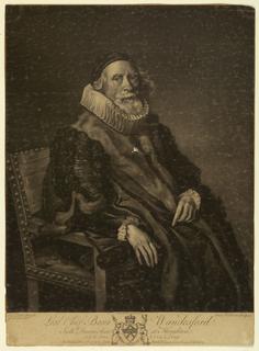 Print, Christopher Baron Wandesford, 1778