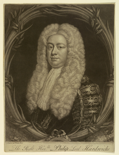 Print, Phillip Yorke, First Earl of Hardwicke, 1730