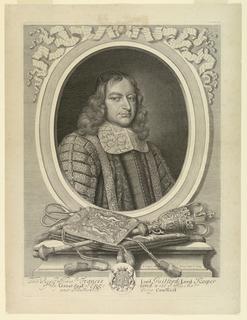 Print, Francis North, Lord Guilford, ca. 1690
