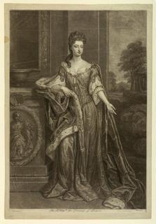 Print, Mary, Countess of Dorset, ca. 1750
