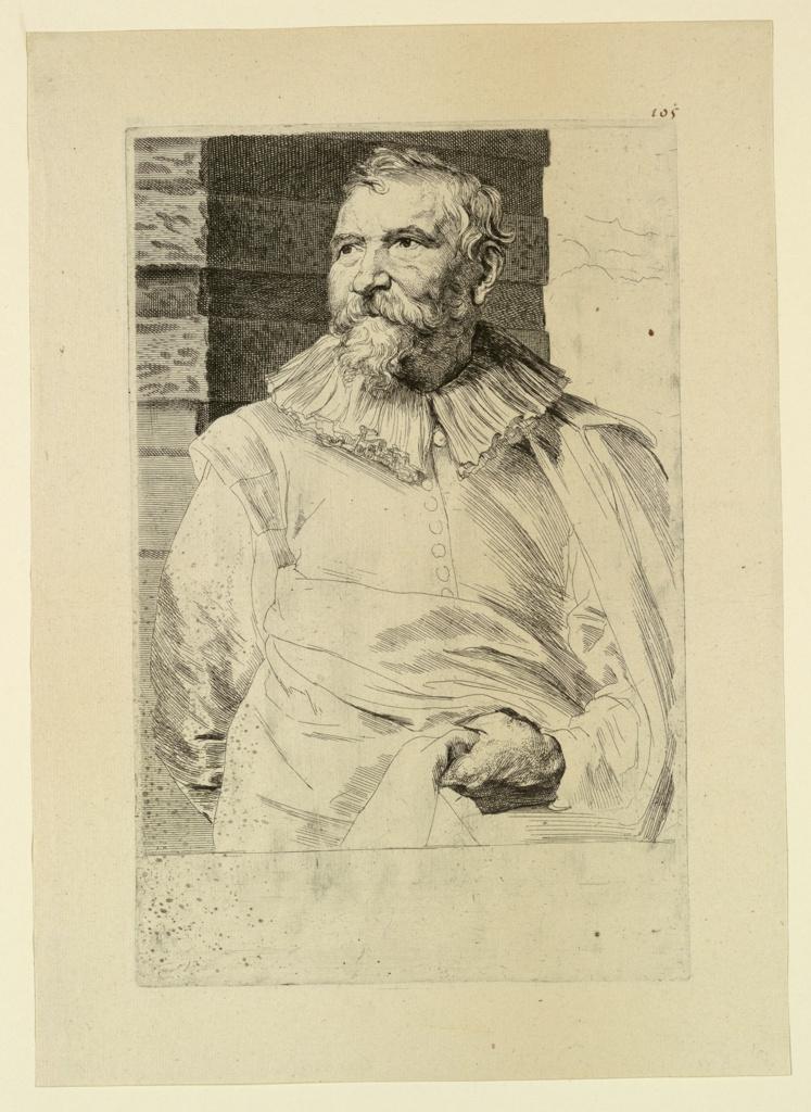 Print, Portrait of Adam van Noort