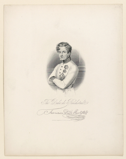 Print, Portrait of the Duke of Reichstadt (1811-1832), ca. 1860