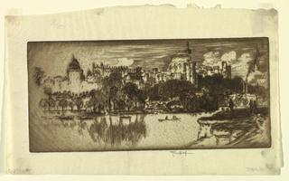 Print, Windsor from Eton, 1903