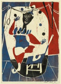 Print, Circus Juggler