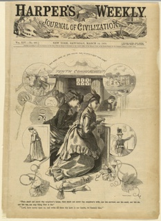 Print, Tenth commandment, March 1870