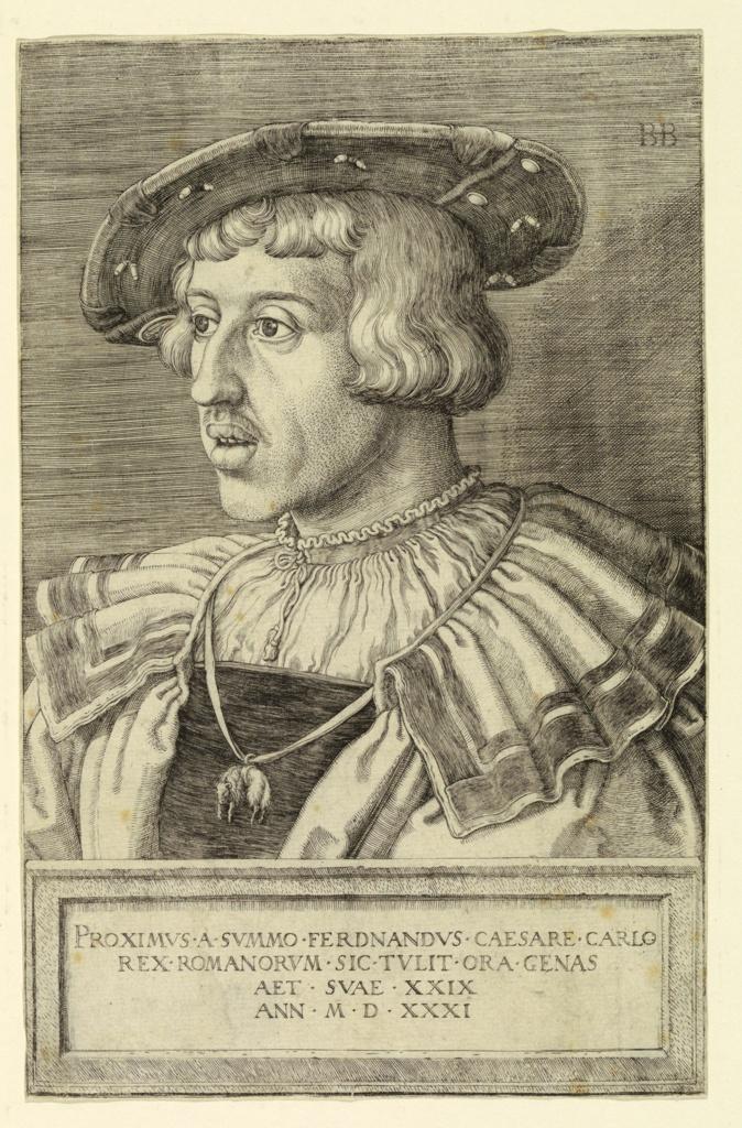 Print, Ferdinand I, Holy Roman Emperor
