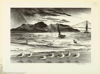 Print, Golden Gate