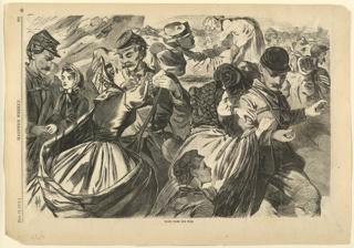 Print, Home from the war, Harper's Weekly, June 1863