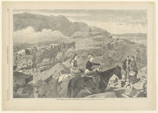Print, The Summit of Mount Washington, Harper's Weekly, 1869