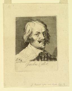 Print, Portrait of Jacques Callot