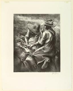 Print, Missouri Wheat Farmers