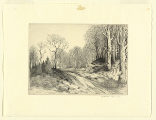 Print, Maple Forest, 1937