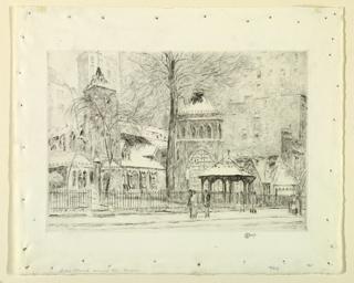 Print, Little Church Around the Corner