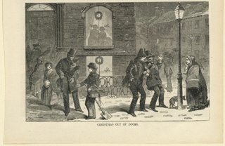 Print, Christmas out of doors, December 1858